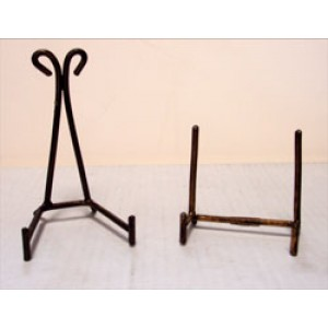 Wrought Iron Cluster Stand-Small Straight
