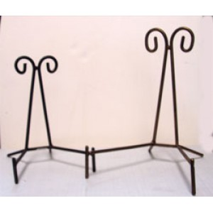 Wrought Iron Cluster Stand - Scroll