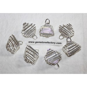 Cages Silver Square