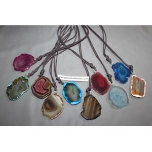 Agate Slab Necklaces