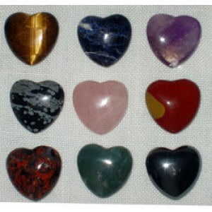 Assorted 30mm Hearts