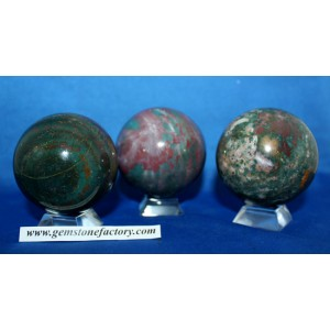 Bloodstone Spheres