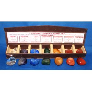 Chakra Tumbled Stone Boxed Set