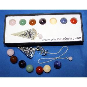 Chakra Changeable Pendulum Set
