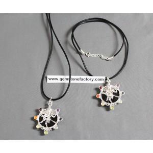 Chakra Kali Goddess Necklace