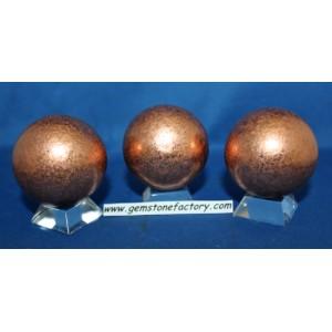 Copper Spheres 50mm