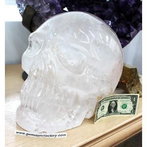 Crystal Quartz Giant Skull #1412