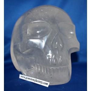 Crystal Quartz Skull #1120