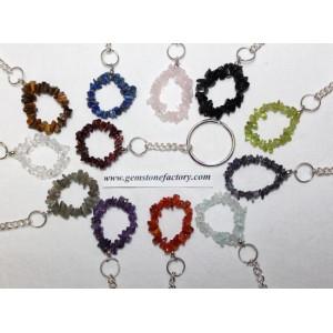 Key Chains Gemstone Chip