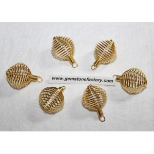 Cages Gold Color