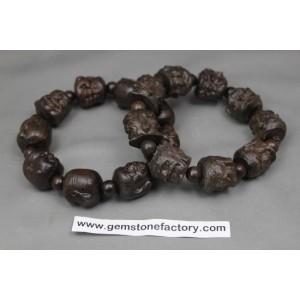Agar Wood Buddha Bracelet