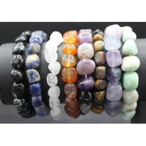 Tumbled Stone Bracelet Group A