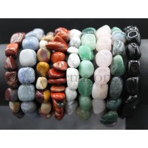 Tumbled Stone Bracelet Group B