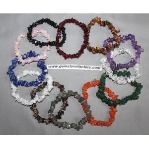 Gemstone Premium Chip Bracelet