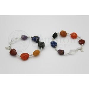 Chakra Tumbled Bracelet