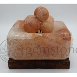 ***CLOSEOUT*** Salt Fire Bowl with Spheres