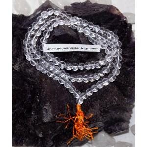 Mala Beads Crystal Quartz