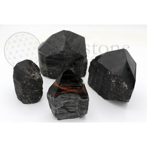 Black Tourmaline Top Polished Points