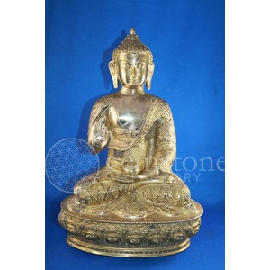 Buddha Brass Sitting Large