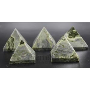Serpentine Banded Pyramid Set