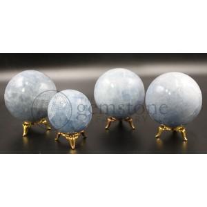 Blue Calcite Spheres