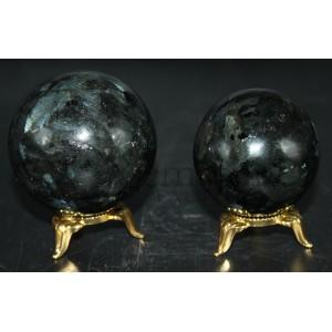 Larvikite Spheres