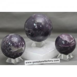 Lepidolite Premium Spheres