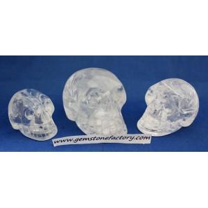 Skulls Clear Quartz