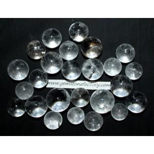 Quartz Spheres 21-30mm