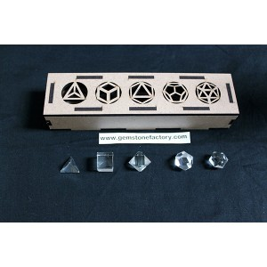 Sacred Geometry Set - Clear Quartz