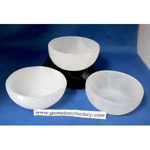 Selenite Bowl 3.75 Inch