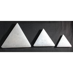 """Selenite Triangle Medium 4"""""""