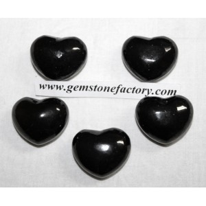 Shungite Puffy Hearts