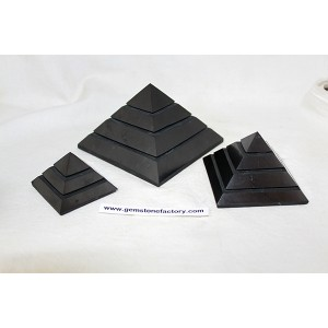 Shungite Sakkara Pyramid 100mm