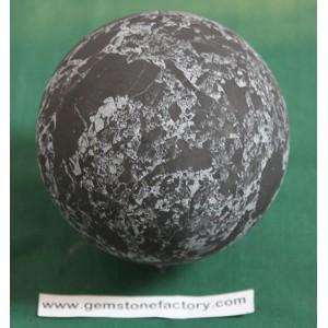 Shungite Sphere with Quartz 100mm