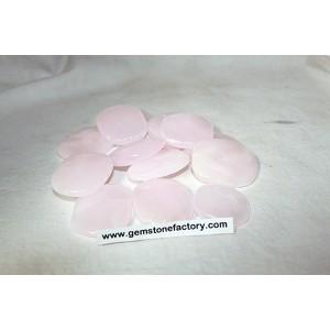 Smooth Stones: Pink Calcite