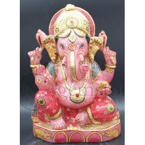 Rose Quartz Ganesh F