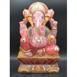 Rose Quartz Ganesh H