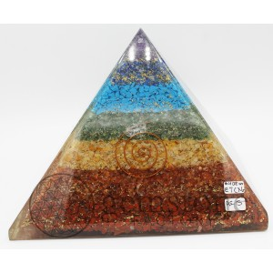 ***Scratch and Dent*** Giant Chakra Pyramid