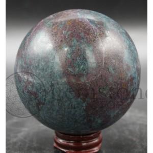Ruby Kyanite Sphere #54