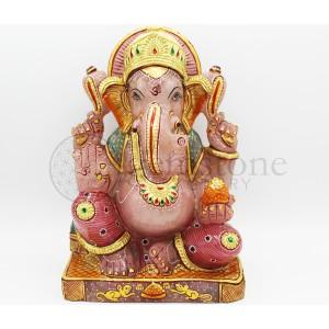 Rose Quartz Ganesh A
