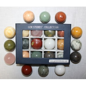 Assorted 40mm Spheres