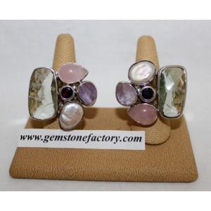 Sterling Five-Stone Ring SR31