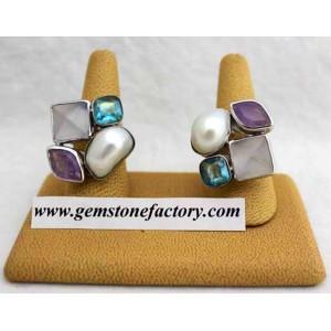 Sterling Chalcedony Ring SR33