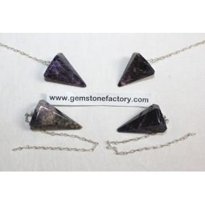 Super Seven Crystal Pendulum
