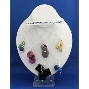 Three-Stone Necklace