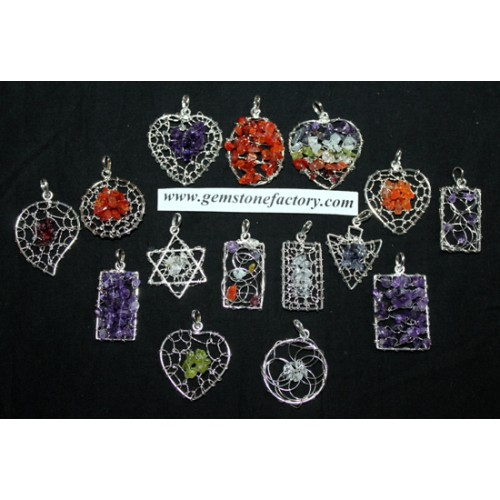 Web Assorted Pendants  SALE