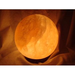 Salt Sphere Lamp