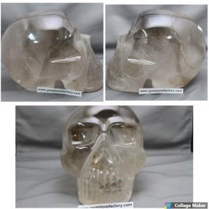 Skull Smoky Quartz #11
