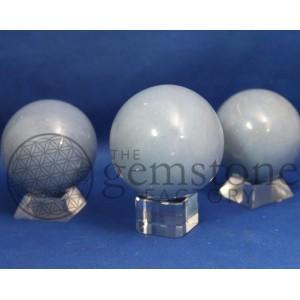 Angelite Spheres
